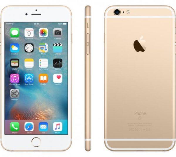 Pametni telefon APPLE iPhone 6S PLUS 16GB zlat
