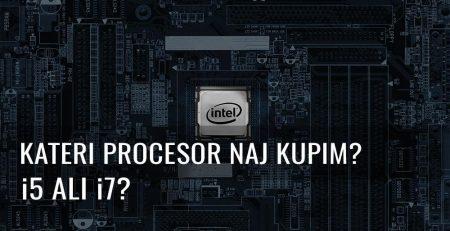 procesor i5 i7