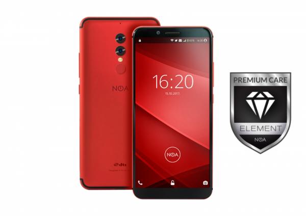 Pametni telefon NOA ELEMENT N8 rdeč + PREMIUM GARANCIJA
